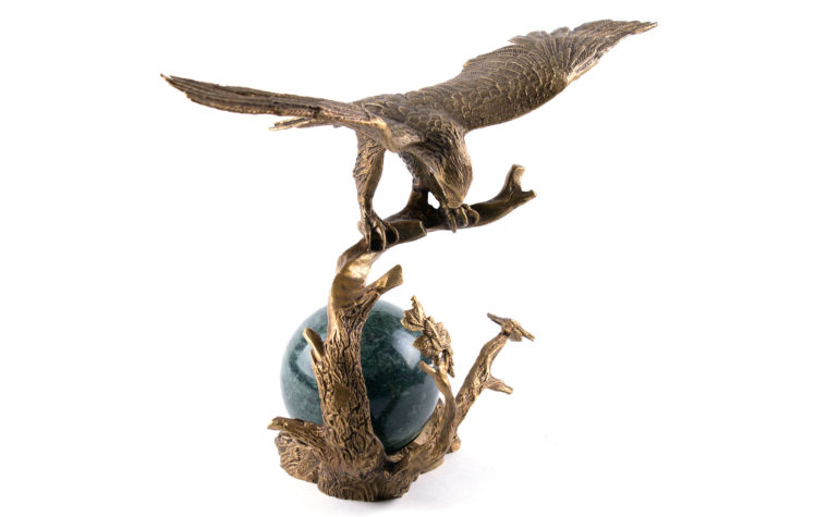 Bronze sculpture Eagle