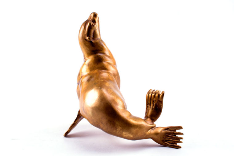 Bronze sculpture Sea Lion