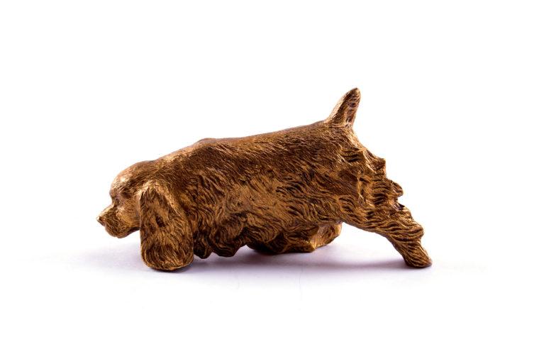 Bronze statuette Cocker Spaniel