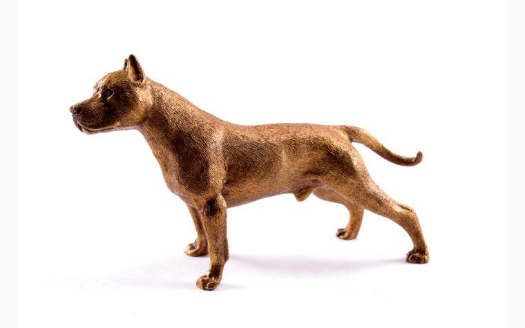 Statuette Staffordshire Bull Terrier