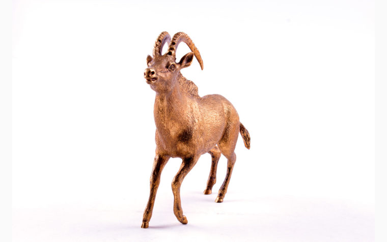 Bronze statuette Sable antelope