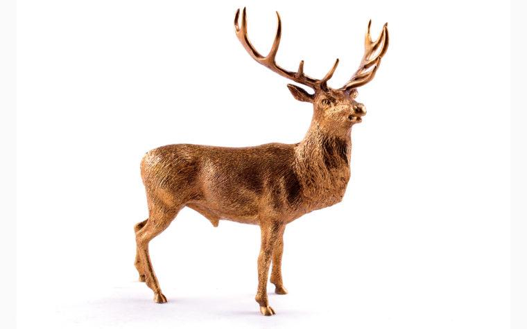 Bronze sculpture Deer