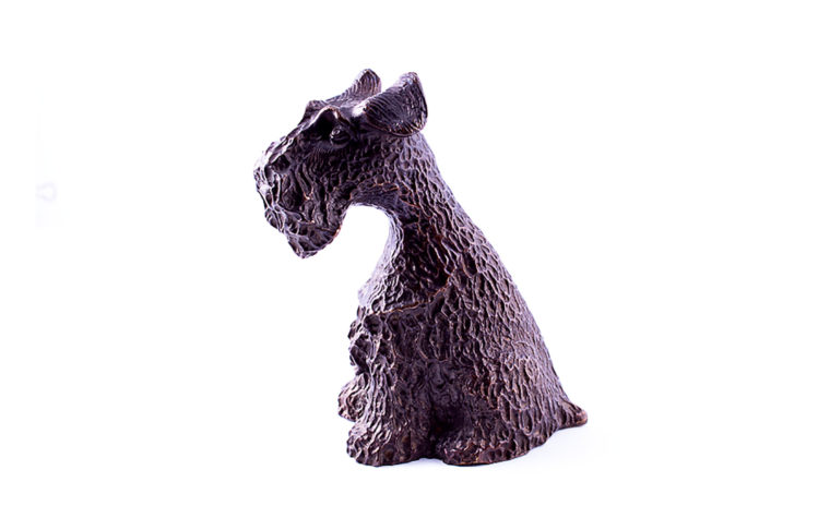 Bronze sculpture  Giant Schnauzer
