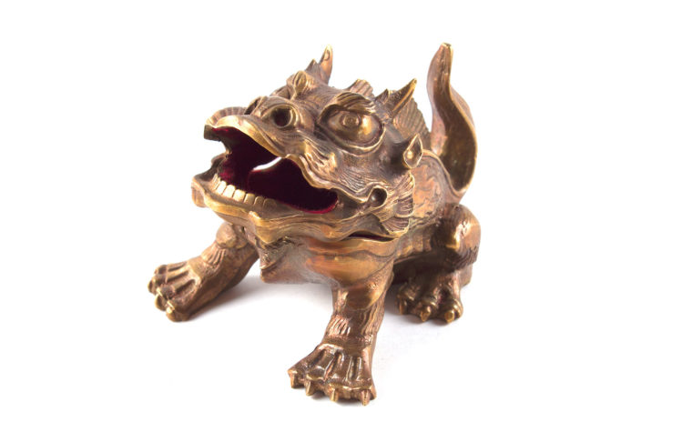Bronze casket The Dragon