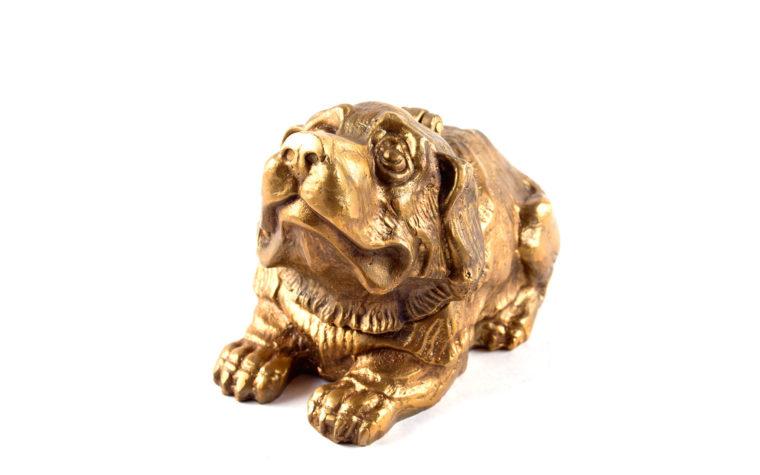 Šperkovnice z bronzu Pejsek
